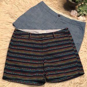 Like New-(2)Merona brand shorts